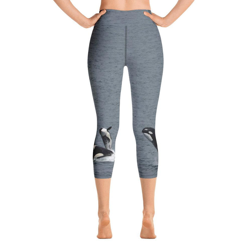 Orca Yoga Capri Leggings