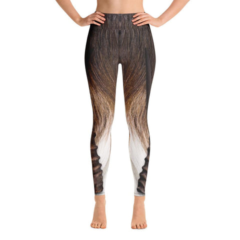 Greater Kudu Yoga Capri Leggings
