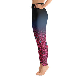 Bog Cranberry 2 Yoga Leggings - 57 Peaks