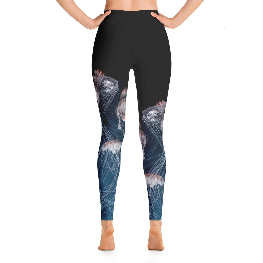 Jellyfish Yoga Leggings - 57 Peaks