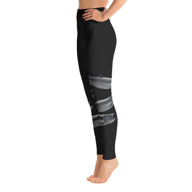 King Salmon Yoga Leggings - 57 Peaks