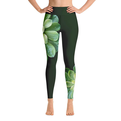 Fortress Of The Bear Yoga Leggings