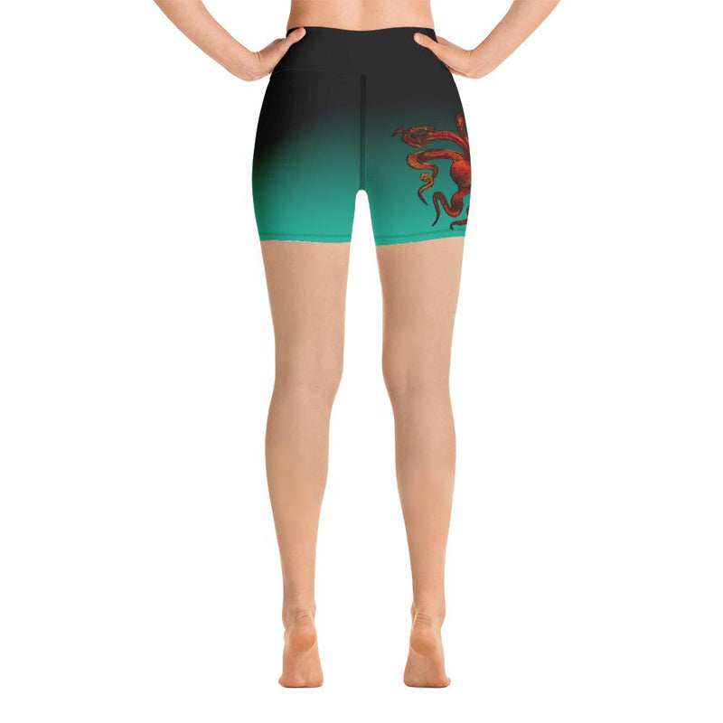 Octopus Nebula Yoga Shorts