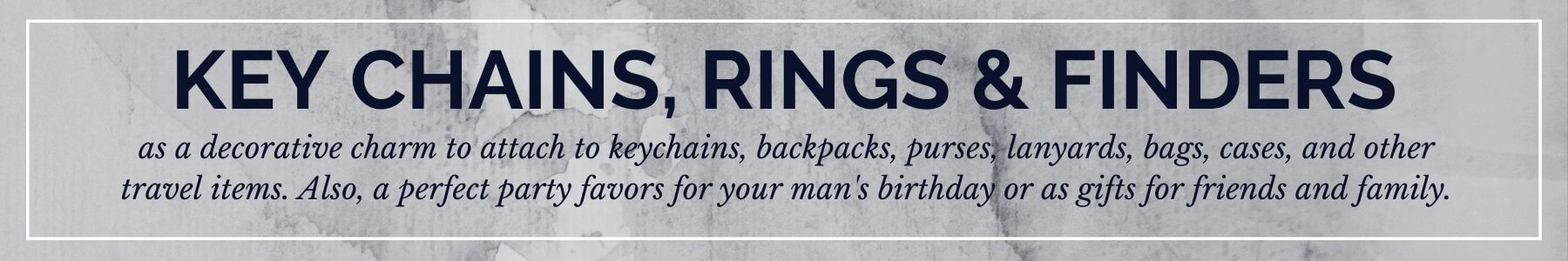 Key Chains, Rings & Finders - Shop at Deluge Sales