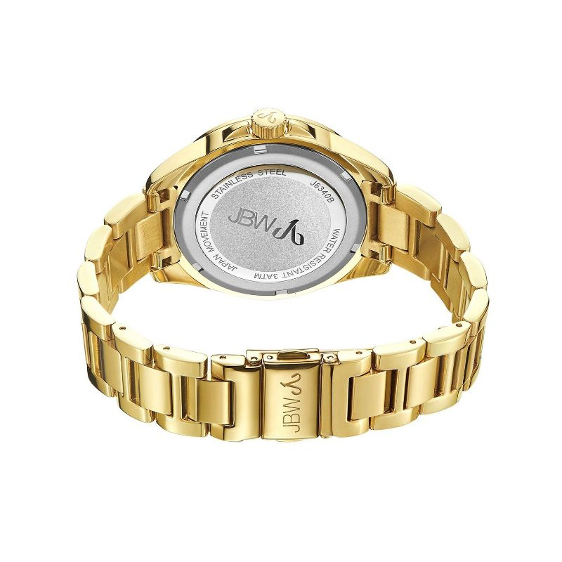 JBW Women's Capri J6340B Gold Diamond Watch