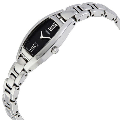 Seiko Silver Stainless Steel Solar Quartz Ladies Watch