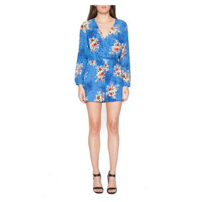 Willow & Clay Women's Floral Print Romper