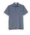 Men's Peter Millar Stretch Polo Shirt, Size Large - Blue