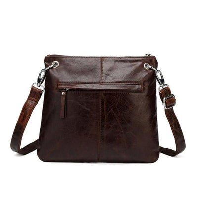Vicenzo Leather Women's Ella Distressed Leather Crossbody