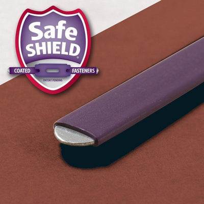 Red End Tab Pressboard Classification Folders SafeSHIELD 3 Dividers, Smead- Deluge Sales