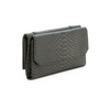 Urban Expressions Grey or Black Michelle Embossed Vegan Leather Wallet - Deluge Sales