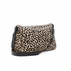 Leopard Scarlett Genuine Calf Hair Satchel + pouch, Alice + Olivia- Deluge Sales