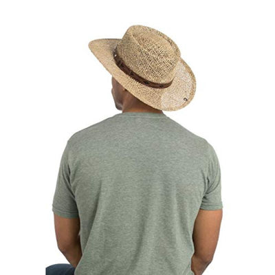 Peter Grimm Men's Natural Garon Straw Hat Natural