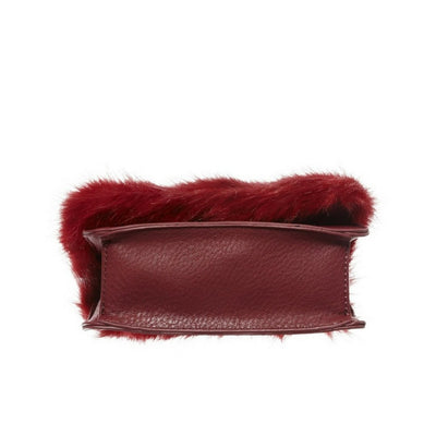 BP. Faux Fur Trim Chain Crossbody Bag - Deluge Sales