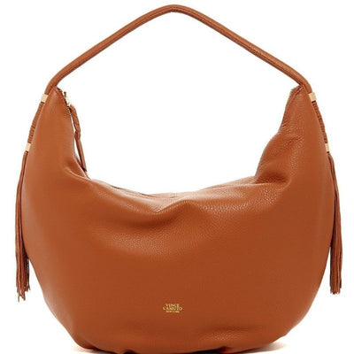 Dessa Brown Leather Hobo, Vince Camuto- Deluge Sales