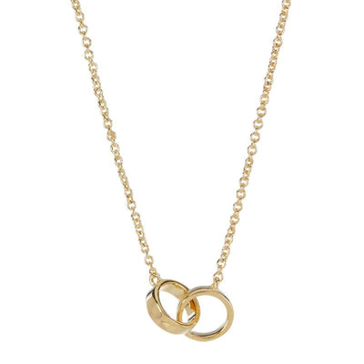 Sterling Forever 14K Gold Plated Interlocking Circles Necklace - Deluge Sales