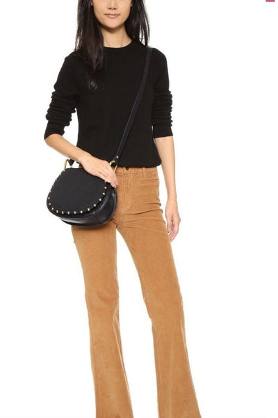 Tabitha Lamb Leather Studded Crossbody, Cynthia Rowley- Deluge Sales