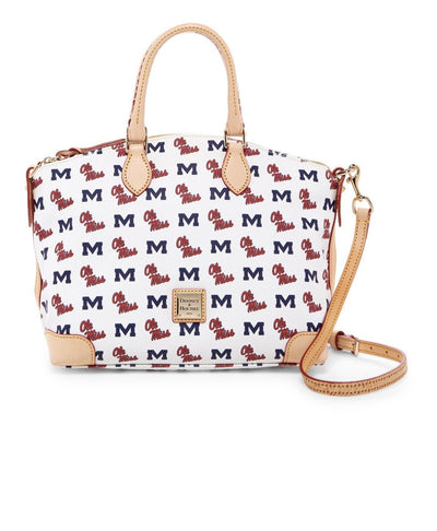 Ole Miss Leather Satchel, Dooney & Bourke- Deluge Sales