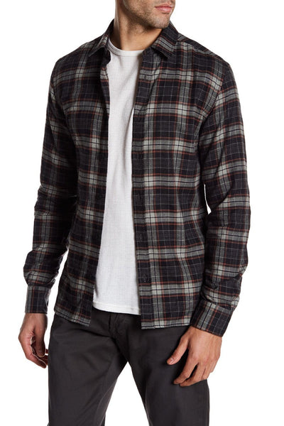 Woodham Extra Trim Fit Plaid Sport Shirt, Size XL, Belstaff- Deluge Sales