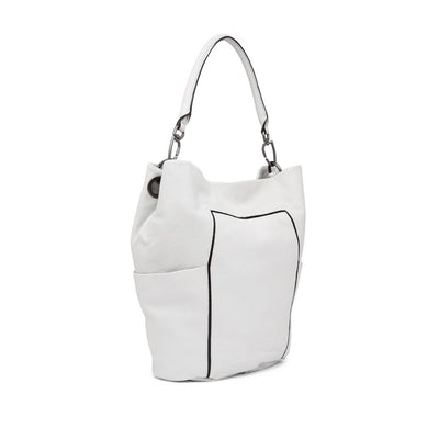 Liebeskind Berlin Women's Contrast Piped Leather Hobo Bag