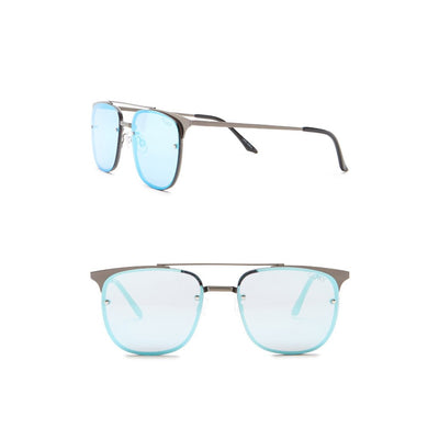 QUAY AUSTRALIA Private Eye 49mm Navigator Sunglasses | Deluge Sales