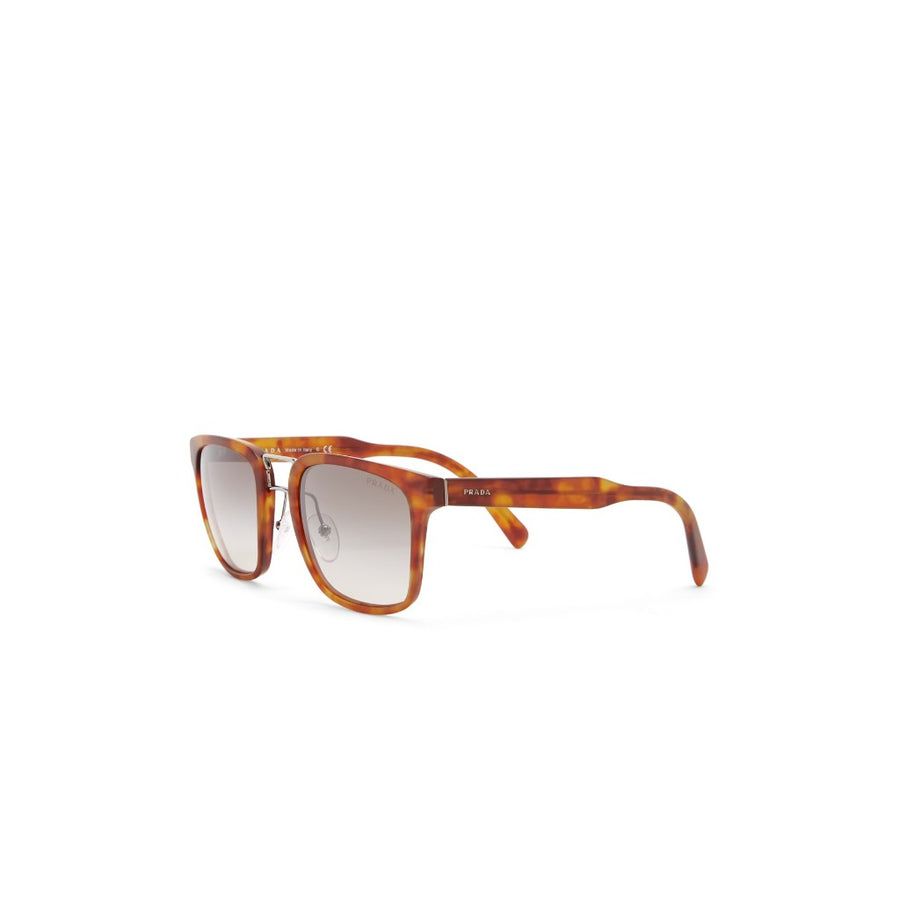 Prada Women's 53mm Havana Square Sunglasses