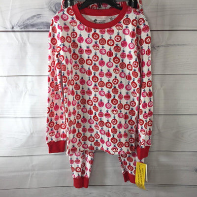 Tucker + Tate Red Print Fitted Pajama Set, Size 10 - Deluge Sales