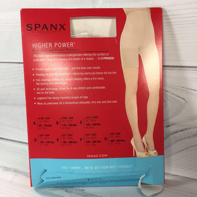SPANX Higher Power New & Slimproved, Size C - Deluge Sales