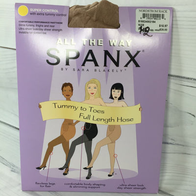 Spanx By Sara Blakely All the Way Full Length Pantyhose - Deluge Sales