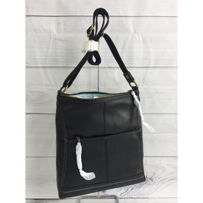 The Sak Black Iris Leather Crossbody Bag - Deluge Sales
