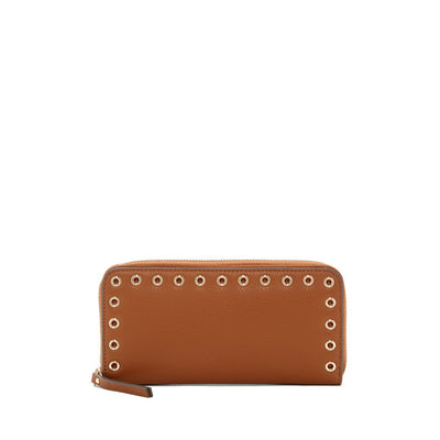 Wallets for Women - Areli Dark Rum 01 Leather Wallet by Vince Camuto - Deluge Sales