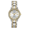 Citizen FE1174-50A Two Tone Eco-drive Silhouette Ladies Watch
