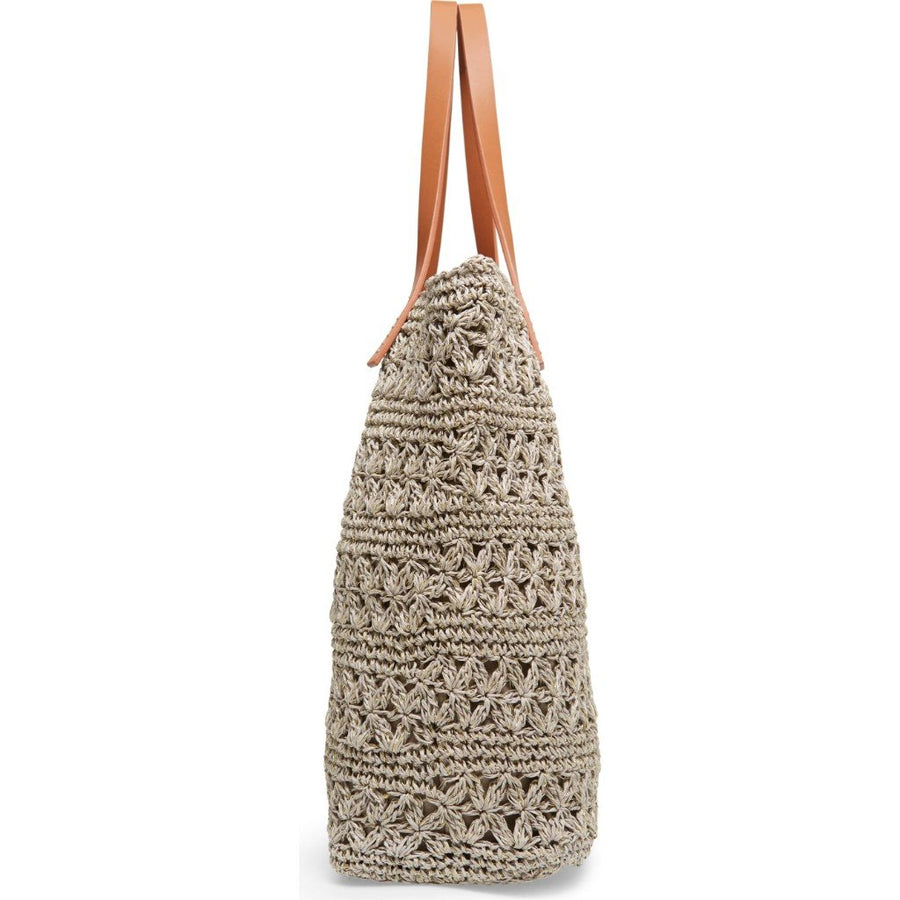 Nordstrom Packable Raffia Crochet Tote