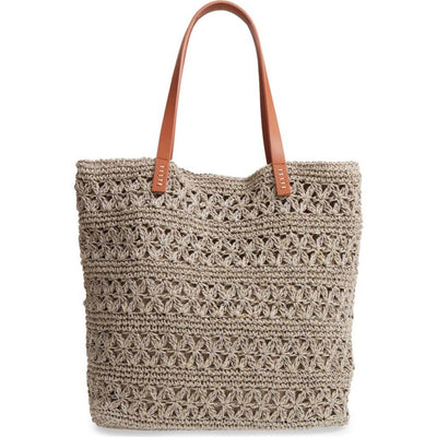 Nordstrom Packable Raffia Crochet Tote | Deluge Sales
