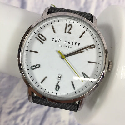 Ted Baker London Men's Daniel Synthetic Strap Watch, 42mm