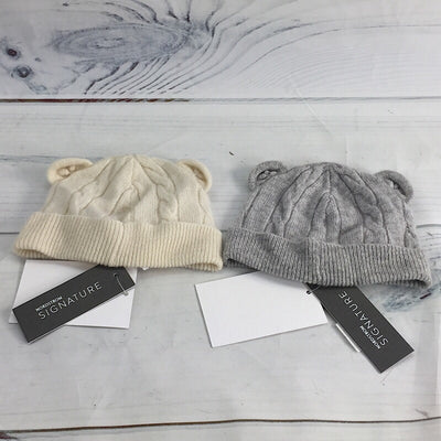 Nordstrom Signature Infant Baby Cable Knit Cashmere Beanie - Deluge Sales