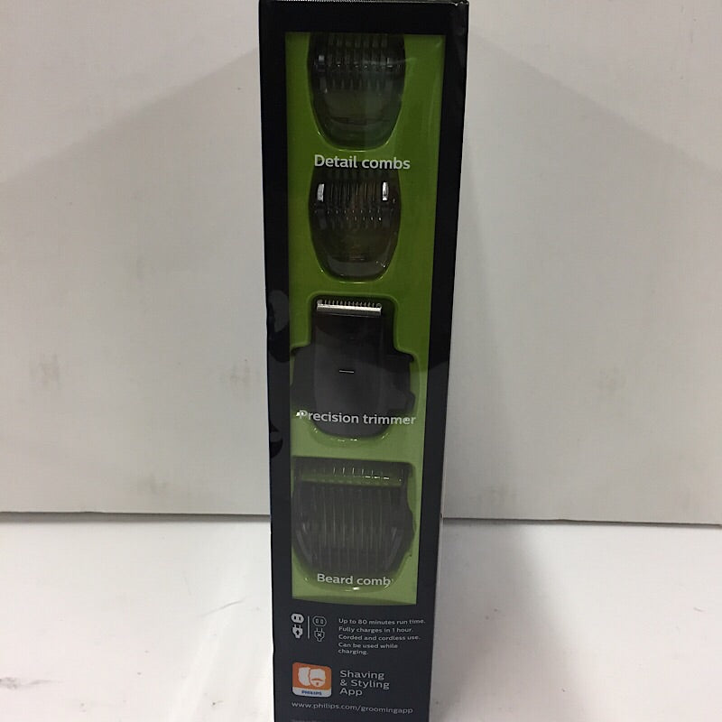Philips Norelco Beard Trimmer Series 7200 BT7215/49, Black