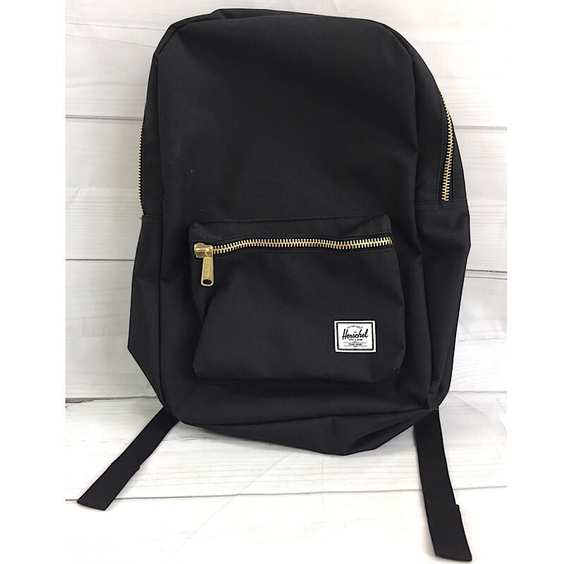 Herschel Black Settlement Mid Volume Backpack - Deluge Sales