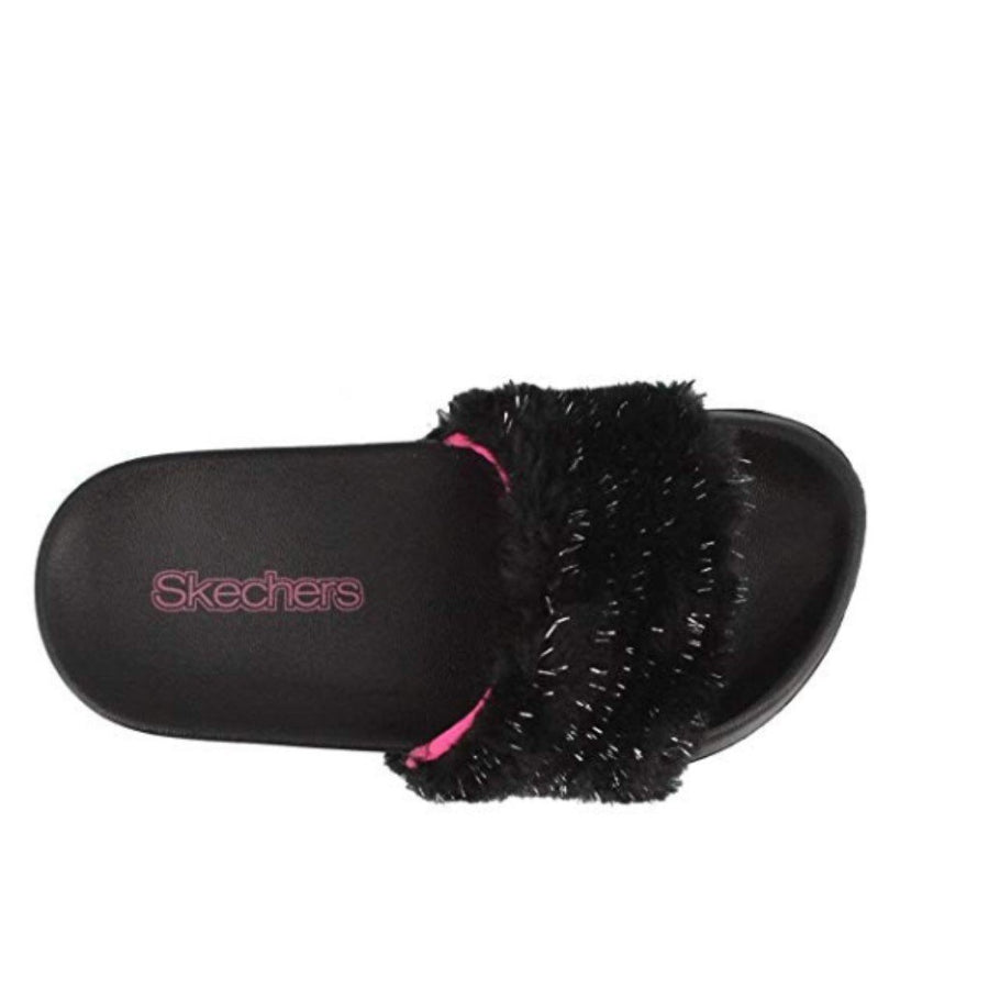 Skechers Kids Sunny Slides Furry Brights Sandal - Deluge Sales