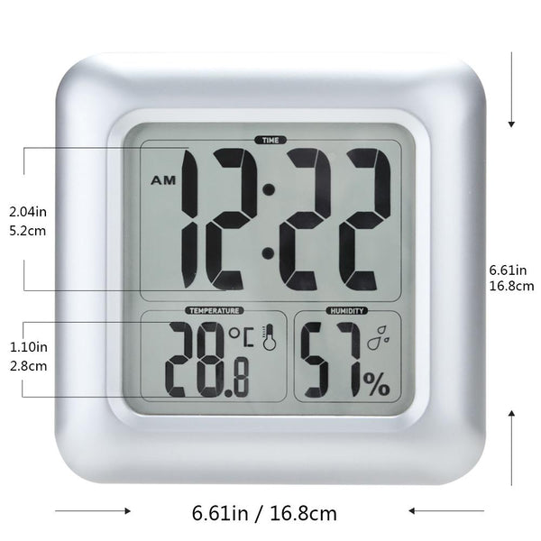 Waterproof Suction Cup Wall Clock - BALDR Electronic