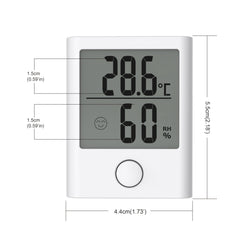 BALDR TH0134 Digital Mini Indoor Thermometer Hygrometer