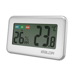 BALDR Digital Wireless Mini Thermometer Hygrometer with humidity gauge