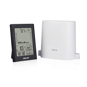 Wireless Indoor Outdoor Thermometer & Hygrometer with Rain Gauge