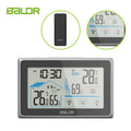 BALDR Wireless Weather Station, Digital Thermometer & Hygrometer (Indoor&Outdoor), Touch Screen,  Temperature Monitor, Humidity Gauge,  with Back-Light