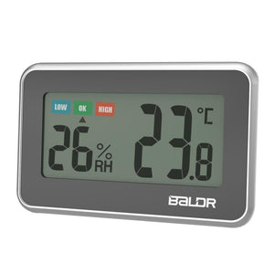 BALDR TH0217 Digital Wireless Mini Thermometer Hygrometer with humidity gauge