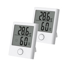 Wireless Touch Button Weather Station Color White - BALDR Electronic