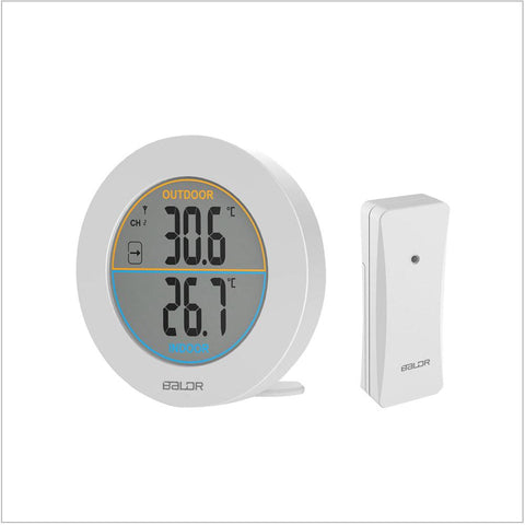Indoor Outdoor Thermometer - BALDR Electronic