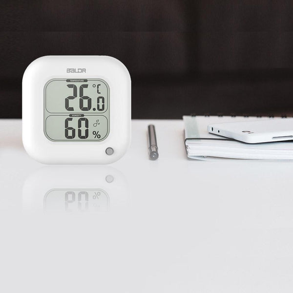 BALDR TH0323 Square Thermo-Hygrometer for Temperature & Humidity