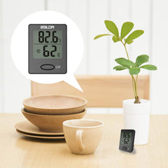 mini digital indoor thermometer hygrometer - BALDR Electronic