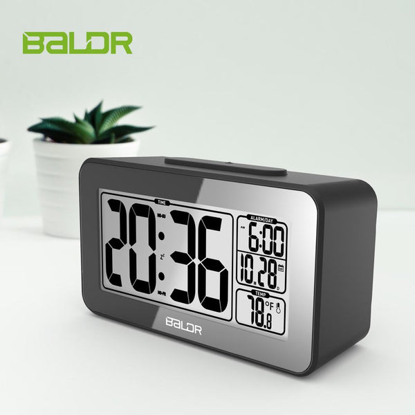 BALDR CL0326 Smart Light Sensor Alarm Clock